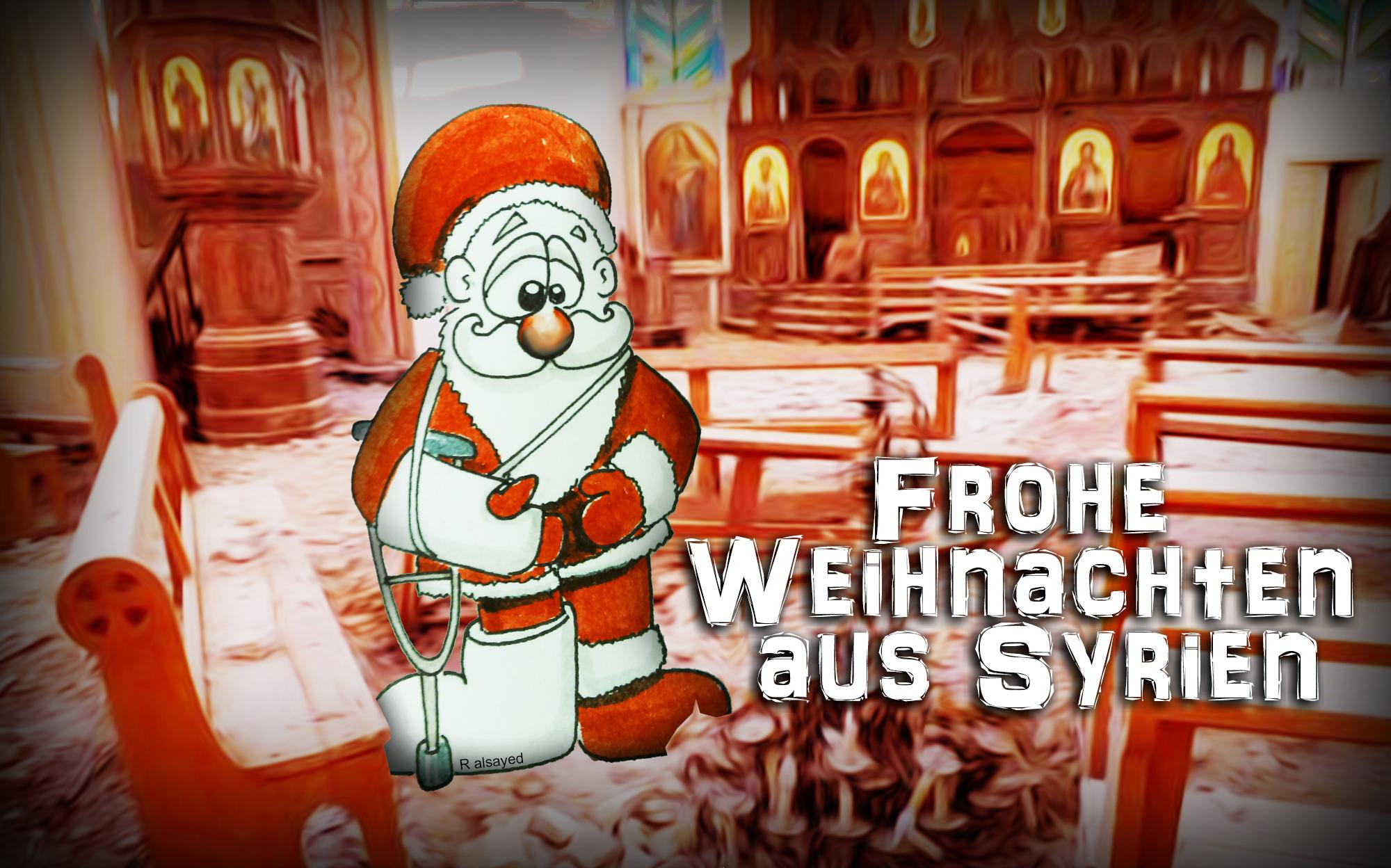 Warum Gibt Es Weihnachten.In Syrien Gibt Es Auch Weihnachten Flüchtling Magazin
