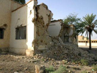 Eine beschädigte Schule im Irak. Foto: Thomas Hartwell via PIXNIO unter CC0 Lizenz