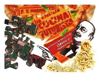 Cucina Futurista Collage. Foto: Eugenia Loginova.: