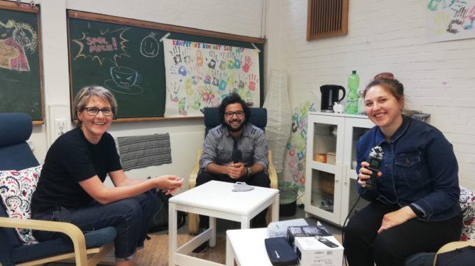 Diese Folge im Interview: Fahman Hussein und Janina Hertel von Kompetenz Kompakt. Foto: Privat