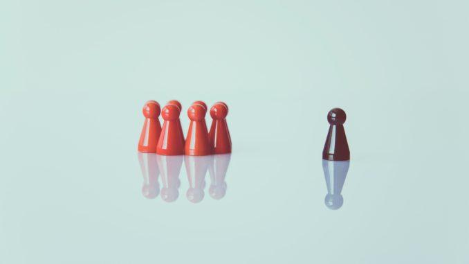 Ich bin anderes als meine Gruppe. Foto: Markus Spiske on Unsplash